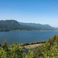 Columbia River depuis le Lemmon's viewpoint
