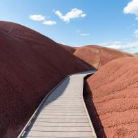 John Day, Painted Hills - Painted Cove Trail