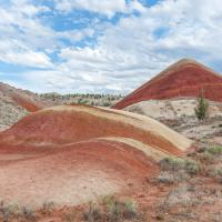 John Day, Painted Hills - Red Hilll