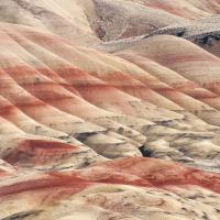 John Day, Painted Hills - depuis la Bear Creek Roadl