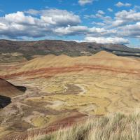 John Day, Painted Hills - Overlook Trail