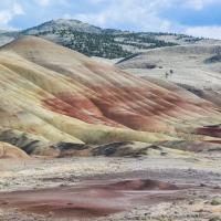John Day, Painted Hills - depuis la Bear Creek Road